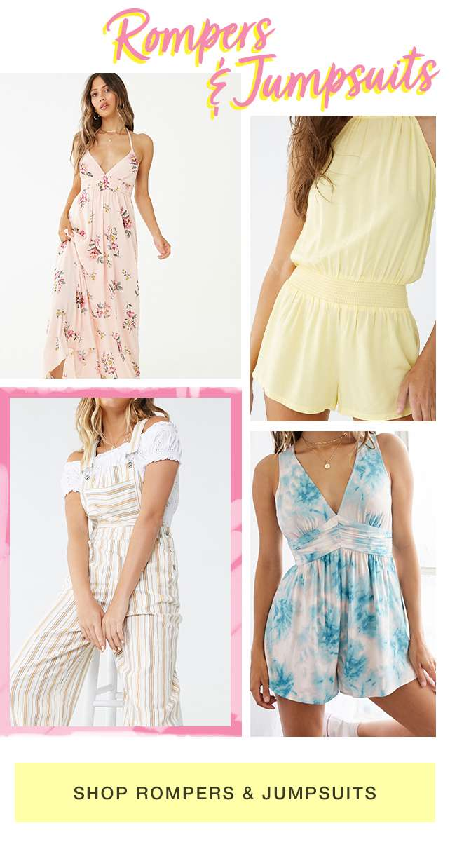 Shop Rompers and Jumpsuits