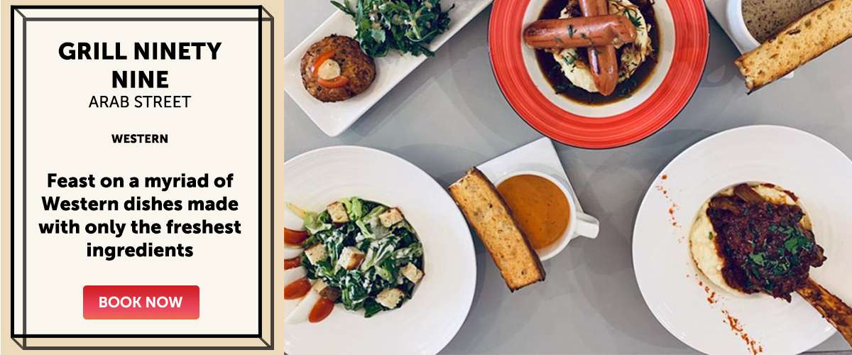 Grill Ninety Nine - Feast on a myriad of Western dishes made with only the freshest ingredients