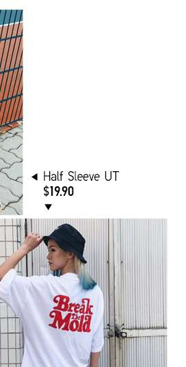 Women's Half Sleeve UT at $19.90