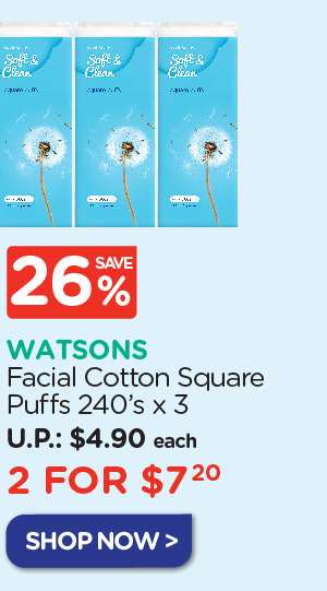 Facial Cotton Puffs