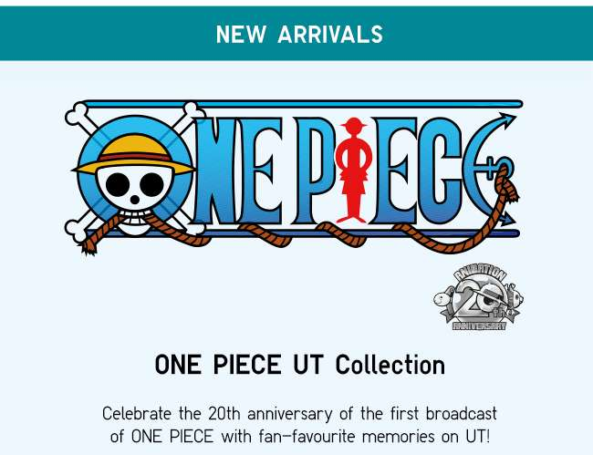 New Arrivals   ONE PIECE UT Collection