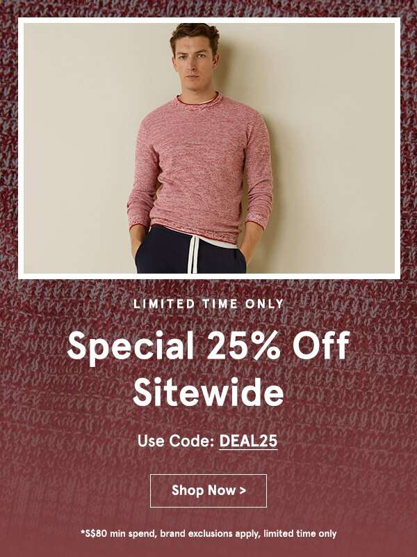 12PM-6PM Only: EXTRA 25% Off Sitewide!