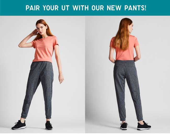Pair your UT with our new pants   Women's Ultra Stretch Active Ankle Pants at $19.90