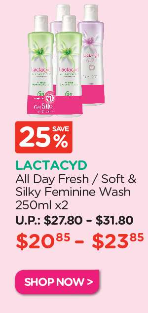 Lactacyd Feminine Wash Twin Pack