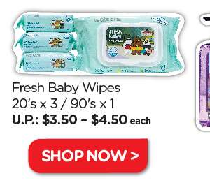 We Bare Bears Baby Wipes