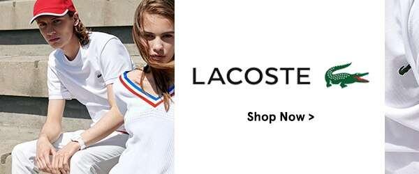 New on ZALORA: Lacoste!