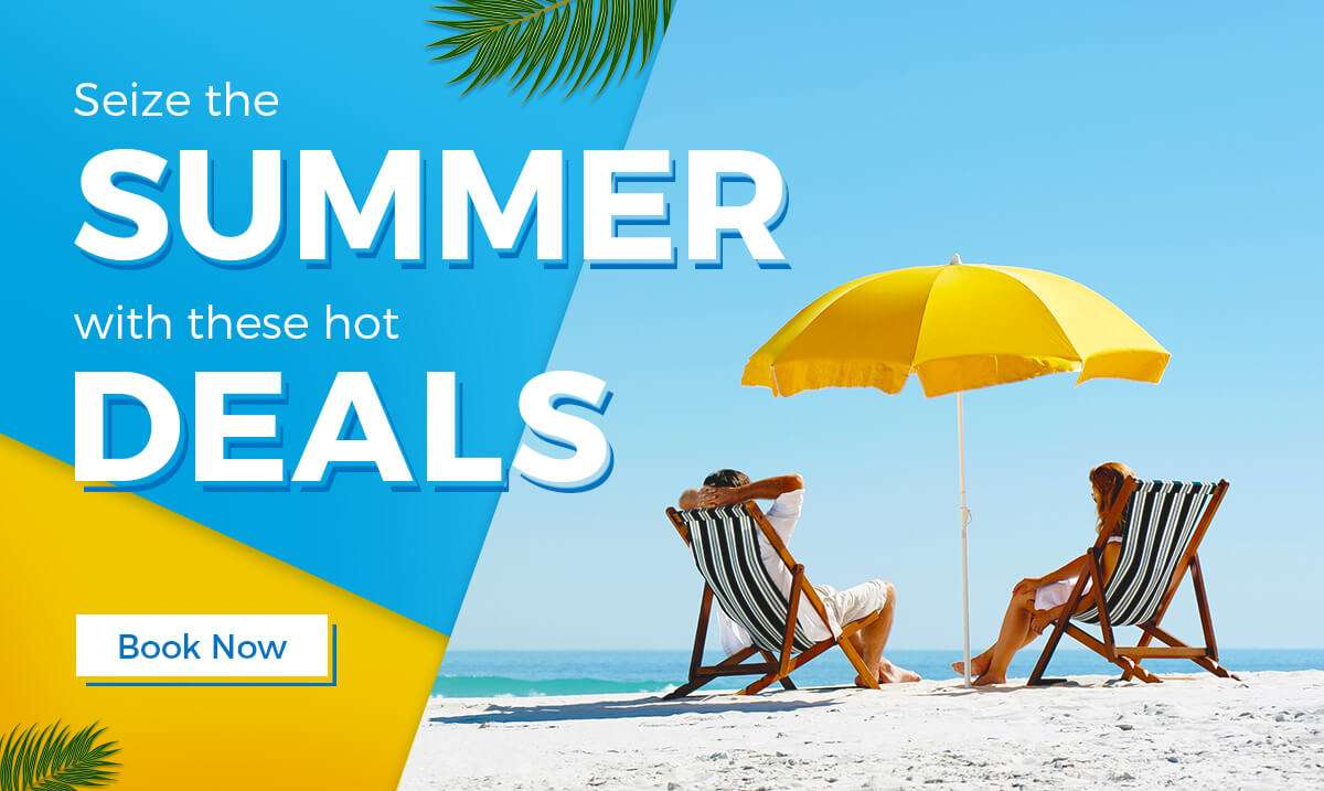 Seize the summer with these hot deals!