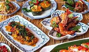Town Restaurant - Thai Fiesta Dinner Buffet from SGD59++ per adult