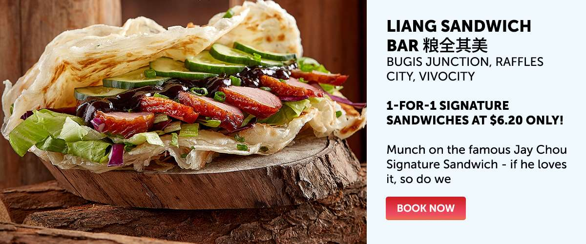 Liang Sandwich Bar 粮全其美 - 1-for-1 Signature Sandwiches at $6.20 only!