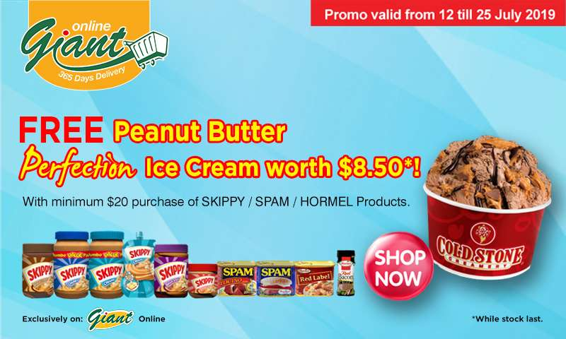 Skippy: Free Peanut Butter Perfection Ice Cream worth $8.50