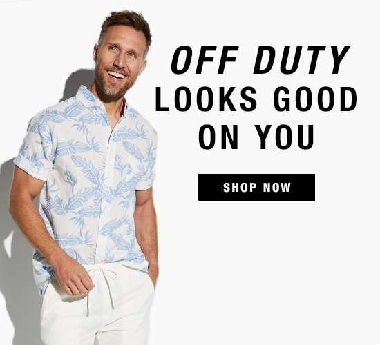 Men's summer apparel and accessories