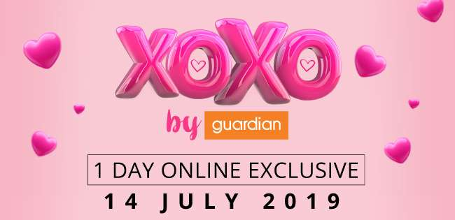 xoxo by Guardian | 1 Day Onlne Exclusive | 14 Jul 2019
