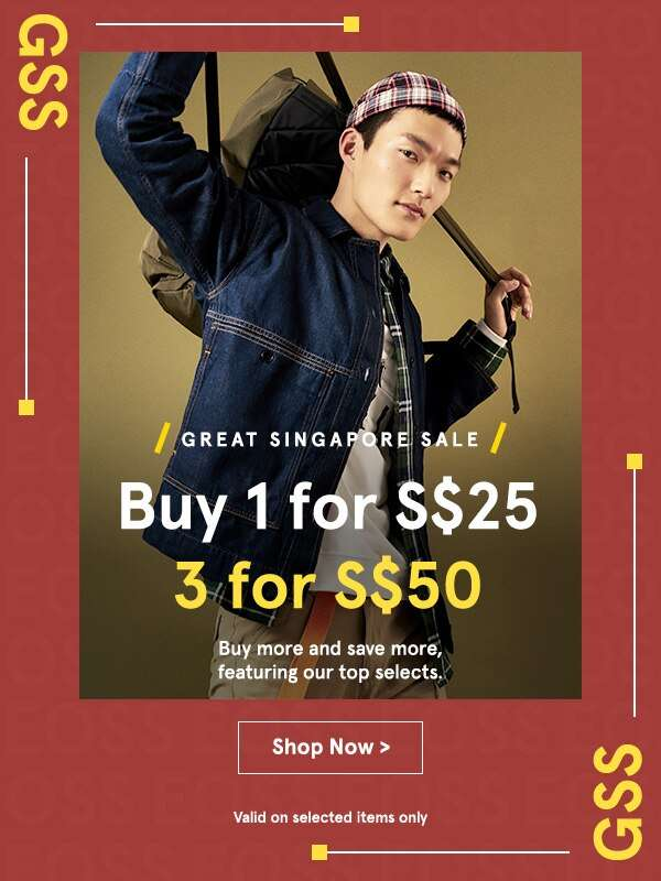 Buy 1 for S$25, 3 for S$50!
