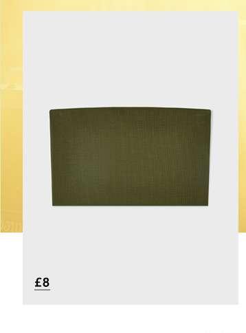Khaki Sleeveless Textured Bandeau Top