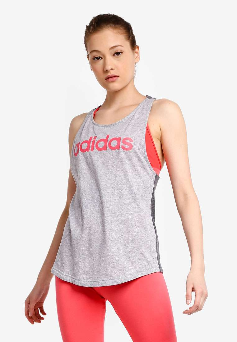 adidas essentials linear tank top