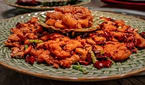The Dragon Chamber - Exclusive: 20% Off Special Firecracker Chicken & Maple Fritters
