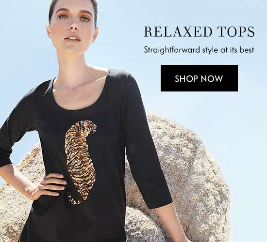 Shop Relaxed Tops