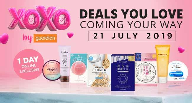 XOXO Deals Coming your way on 21 Jul 2019