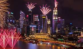 The Landing Point - Spectacular Pre-NDP Fireworks View with Cocktails from SGD250 for up to 4 pax