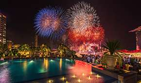 Lantern - Spectacular Drinks & Snacks with Pre-NDP Fireworks View from SGD80