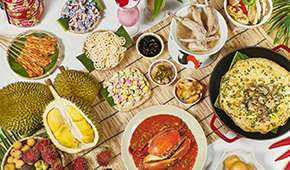 The Line - The Flavours of Singapore Buffet Dinner from SGD118++