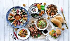 Sky22 - Penang Street Fare Lunch & Dinner Buffet @SGD56++