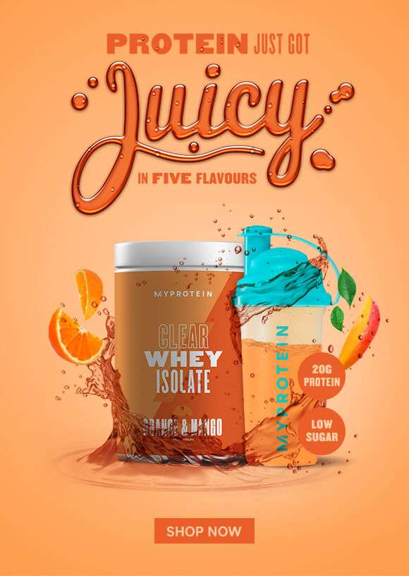 Clear Whey Isolate Is Here!