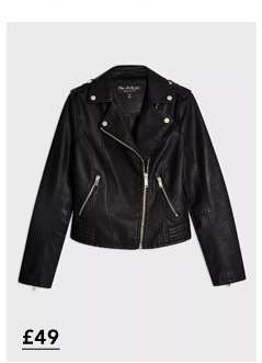 Black Debbie Biker Jacket