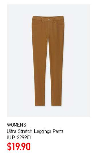 Women's Ultra Stretch Leggings Pants at $19.90