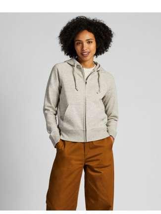 Women's Sweat Long Sleeve Full-Zip Hoodie at $29.90