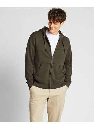 Men's Sweat Long Sleeve Full-Zip Hoodie at $29.90