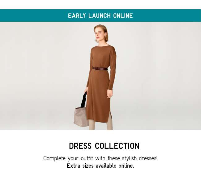 EARLY LAUNCH ONLINE | Dress Collection