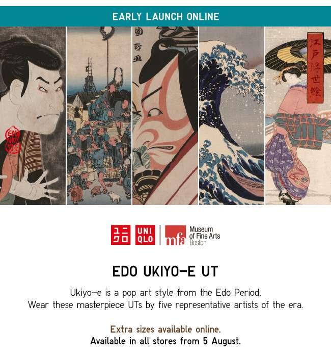 EARLY LAUNCH ONLINE | EDO UKIYO-E UT