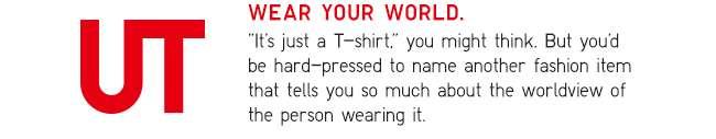 UT | Wear Your World