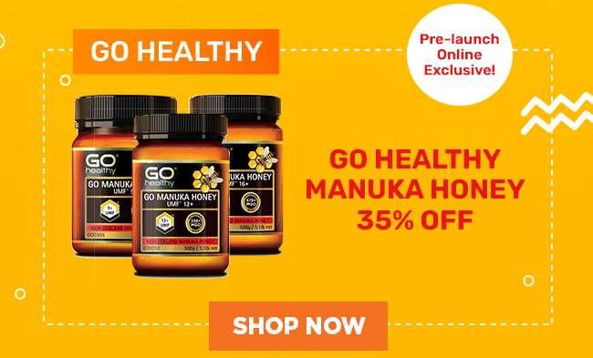 GO Healthy | 35% off Manuka Honey