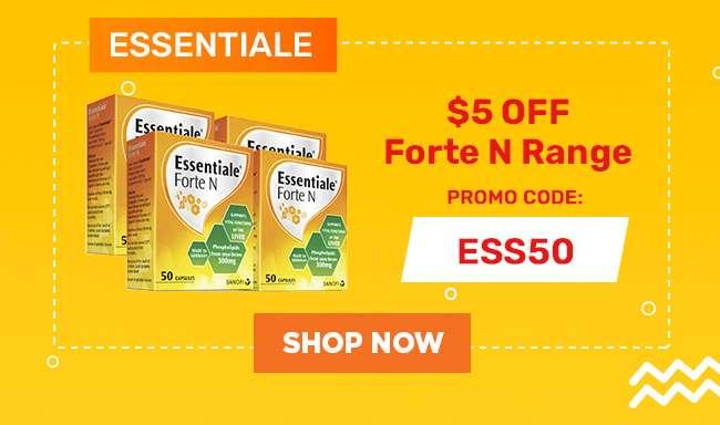 Essentiale | $5 off Fortne N Range | Promo Code: ESS50