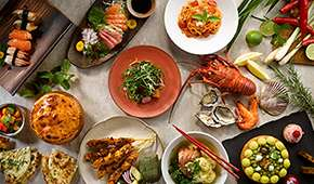 Melt Café - Flavours of Singapore Dinner Buffet from $78++