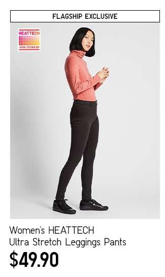 Women's HEATTECH Ultra Stretch Leggings Pants at $49.90