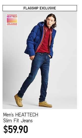 Men's HEATTECH Slim Fit Jeans at $59.90