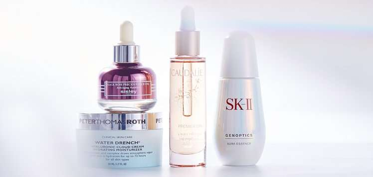 SK-II, Clarins & More for Hydrated Skin