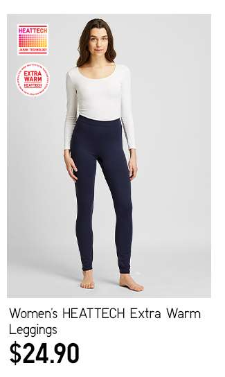 Women's HEATTECH Extra Warm Leggings at $24.90