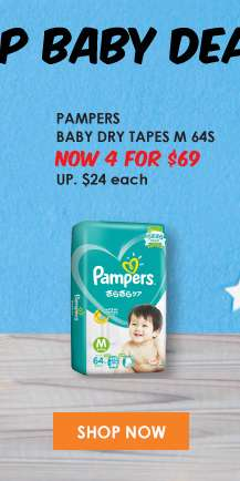 Pampers Baby Dry Tapes M 64S