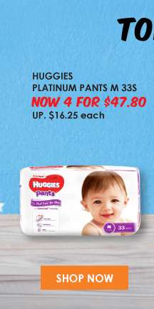 Huggies Platinum Pants M 33S