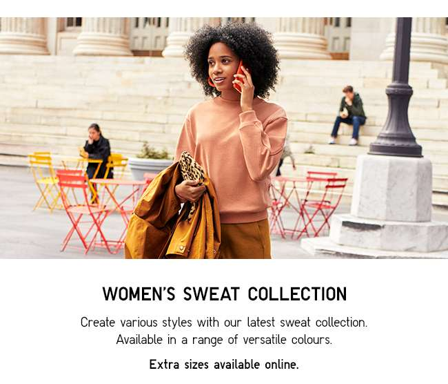 WOMEN'S SWEAT COLLECTION