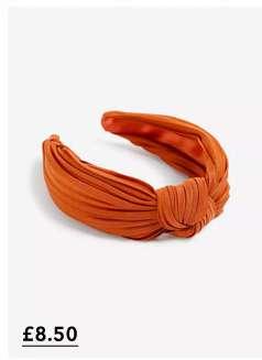 Rust Knot Headband