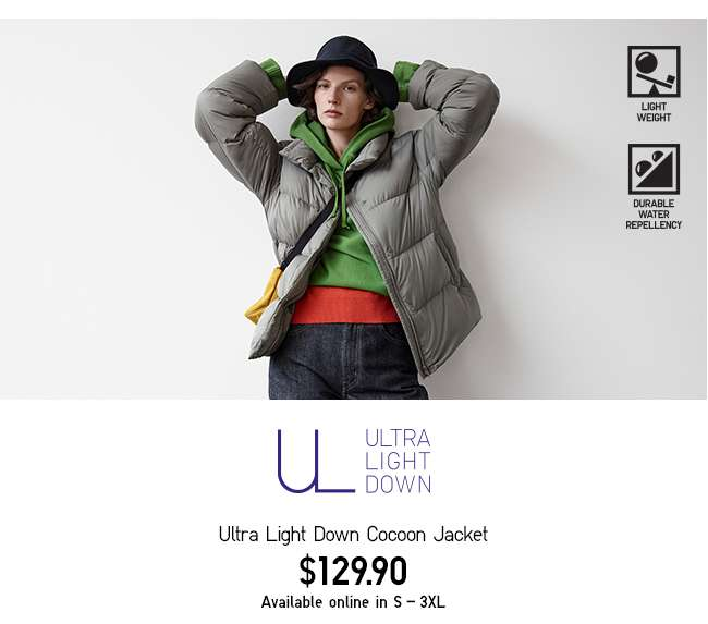 Women's Ultra Light Down Cocoon Jacket at $129.90