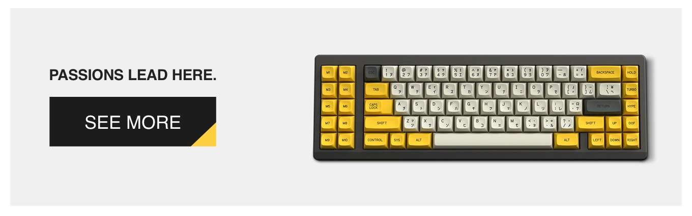 Drop + Zambumon MT3 Serika Custom Keycap Set