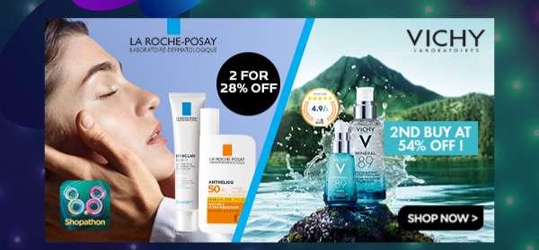 La Roche-Posay & Vichy