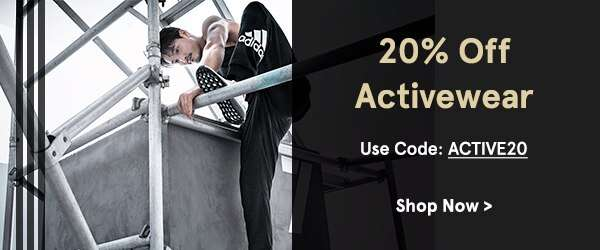 Activewear: Extra 20% Off!
