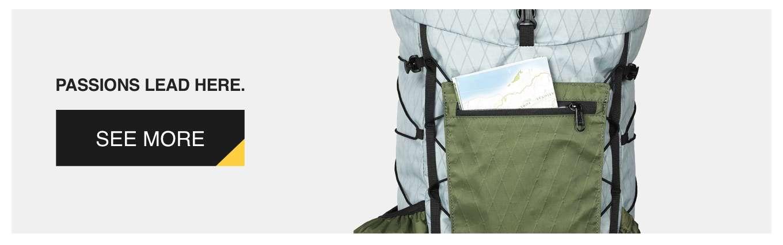 Drop 40L Backpack Designed by Dan Durston